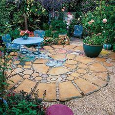 unconventional backyard | Bohemian Backyards | Little Gypsy, Big Suitcase