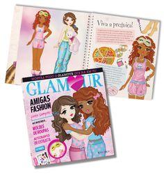 Interior Livro Glamour - Amigas Fashion Para Sempre