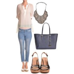 Summer lunch date by linavisualsoft on Polyvore