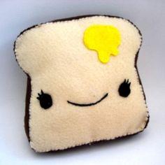 Clip Art Toast Clipart cute kawaii toast illustration clip art by creative plush