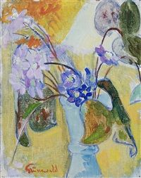 View Blåsippor och blad by Isaac Grünewald on artnet. Browse upcoming and past auction lots by Isaac Grünewald. Global Art, Henri Matisse, Art Market, Flower Art, Still Life, Auction, Artist, Flowers, Painting