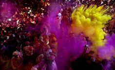 O avesso da moda: Holi, festival das cores na Índia: hora de colorir roupas brancas