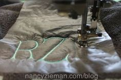 The Easiest Way to Embroider Towels Nancy Zieman Embroider a Towel Monogram Eileen Roche Machine Embroidery in 6 Easy Lessons Brother Embroidery Machine, Machine Embroidery Thread, Machine Embroidery Projects, Embroidery Needles, Learn Embroidery, Machine Quilting, Embroidery Ideas, Embroidery Supplies, Machine Applique