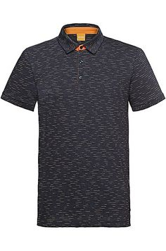 Polo shirt with space dye effects   Picco  fd69fd4c9bd84