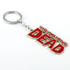 6/pcs MS Jewelry The Walking Dead Keychain AMC Key Rings Holder For Gift Chaveiro Car Key Chain Men Souvenir