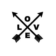 Love Arrows instant download cut file SVG DXF EPS by bibberberry