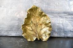 Leaf dish to hold my bracelets on my dresser in my bedroom. A girl needs to organize her accessories!