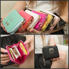 Fashion Lovely Lady Purse Clutch Women Wallets Short Small Bag Card Holder FKS #Whatwears #Wallet