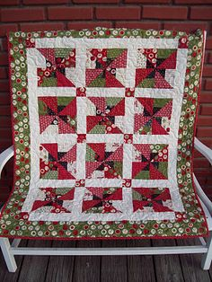 From the Moda Bakeshop - The Serendipity Quilt from the Missouri Star Quilt Company