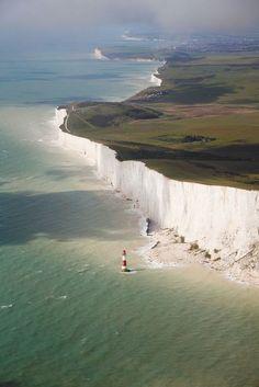 Chalk Cliffs, England.