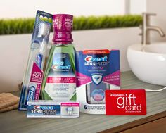 #Crest Sensi line and #Walgreens giftcard #giveaway ~ ends 9/29 #win