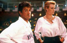 Sylvester Stallone & Brigitte Nielsen on the set of 'Rocky IV'