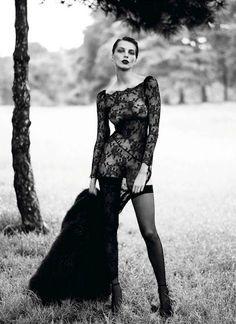 Daria Werbowy : Vogue Paris September 2012 : Mert & Marcus