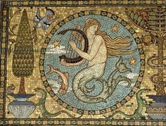 The Salviati Architectural Mosaic designed by Walter Crane: Leighton House, Kensington