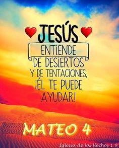 """"""" Entonces Jesús le dijo: Vete, Satanás, porque escrito está: Al Señor tu Dios adorarás, y a él sólo servirás"""". Mateo 4:10 (RVR 1960)"""