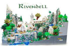 Nunca descansaré hasta tener un Lego Rivendell