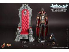 Hot Toys Captain Capitan Harlock con trono Arcadia