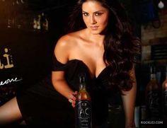 Sunny Leone Promoting Whisky Brand