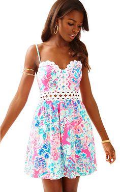 Rika Fit & Flare Dress