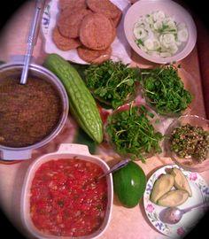 Cucumber Chow (Garden fresh cucumbers & Green peppers, salt, lime ...