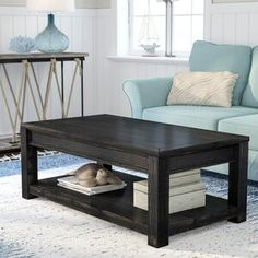 Discover the top-rated farm home coffee tables for your rustic home. We love rustic coffee tables in a farmhouse living room. Diy Coffee Table Plans, Solid Wood Coffee Table, Coffee Table Rectangle, Rustic Coffee Tables, Glass Top Coffee Table, Cool Coffee Tables, Coffee Table With Storage, Transitional Coffee Tables, Farmhouse Living Room Furniture