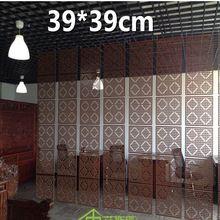 En bois massif tuiles modernes minimaliste salon Partition bouclier ...