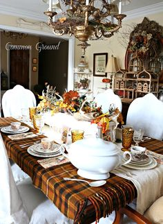 Common Ground-Thanksgiving Table Setting