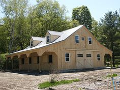 Barn Stable | Barn Stable built in NY state Keystone Barns | Yev Zer | Flickr