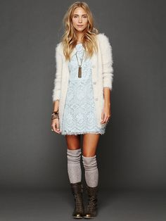 Straight Laced Shift Dress at Free People Clothing Boutique