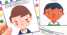 Help children of all ages learn to recognise, manage and empathise with these big emotions cards and matching game.