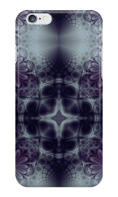"""Pattern ""Fractal symmetry"""" iPhone Cases & Skins by floraaplus 