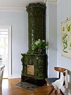 ornate swedish masonry heaters.