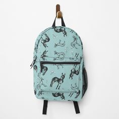 Going Back To School, Dandelions, Donkeys, Designer Bags, Gifts For Girls, Zipper Pouch, Backpacks, Printed, Awesome