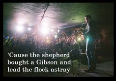 Eric Church ~ That's Damn Rock & Roll A fellow Church fan said he thought maybe Eric is talking about us. Eric Church, Country Singers, Country Music, Church Music, Take Me To Church, Thomas Rhett, Music Is Life, Music Music, Music Lyrics