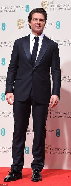 Tom Cruise - 2015 BAFTA Awards #suits