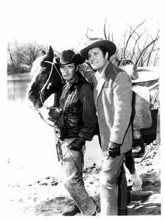 Peter Breck and Richard Long