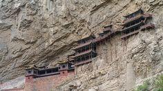 Hanging Monastery; Shanxi Province, China
