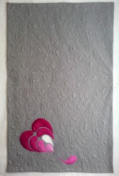 Modern Love, 2014, 64'' x 40'' by Mary Vaneecke