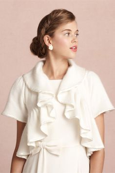 Foxtrot Topper in SHOP The Bride Cover Ups at BHLDN