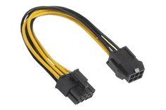 Adapter 6 Pin PCIe auf 8 Pin ATX, 12V Adapter