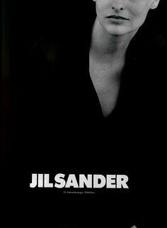 Linda Evangelista by Peter Lindbergh for Jil Sander (FW 1994)