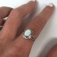 Image of Opal Navajo Ring
