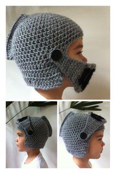 Gladiator crochet hat Vivi fez arte