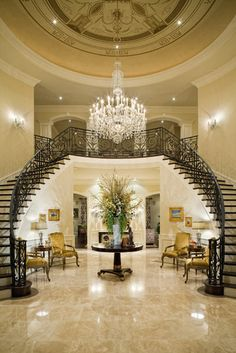 1000 Images About Stunning Entryway Grand Staircase And