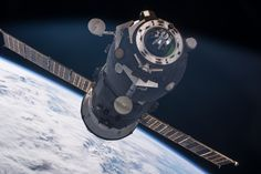 The International Space Station has hosted a variety of spacecraft shuttling crews and delivering supplies.