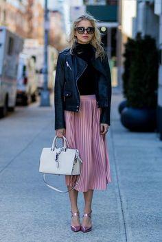 spring fashion trend color light pink caroline daur
