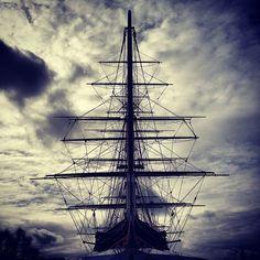 Mobile shot: Cutty Sark, Greenwich