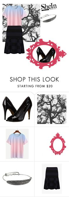 """""""TS⚪"""" by lady-shadylady ❤ liked on Polyvore featuring Ted Baker, Green Leaf Art, Alex and Ani and French Connection"""