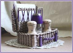 szalvétatartó Плетеные изделия для уюта в вашем доме.