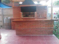 PERGOLAS Y QUINCHOS Backyard Kitchen, Backyard Patio, Outdoor Patio Designs, Blessed Mother, Bbq, Cases, Ideas, Home Decor, Gardens
